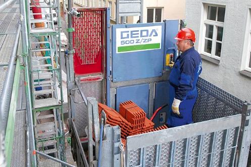 GEDA 500 Z/ZP - GEDA Lifting Equipment